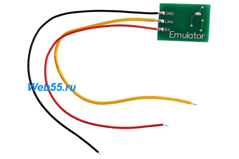 Srs2 mazda датчик эмулятор своими руками 57