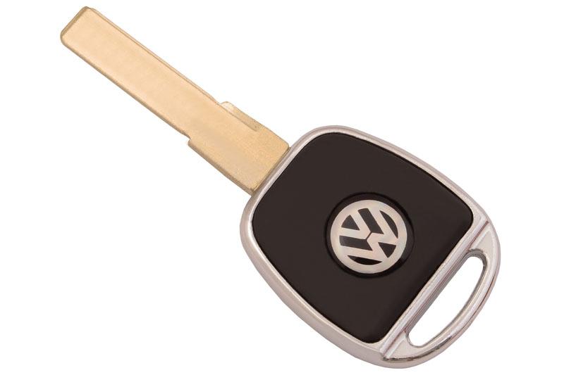 ключ для volkswagen с подсветкой (hu66)